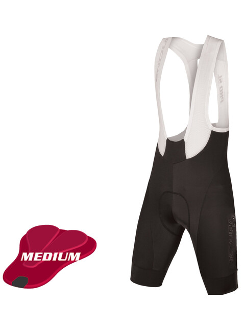 Endura Pro SL II Bibshorts Long Men Medium-Pad Black